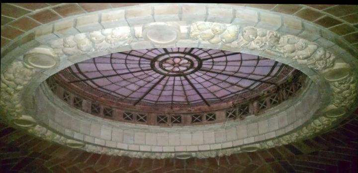 Skylight in Guastavino Dome