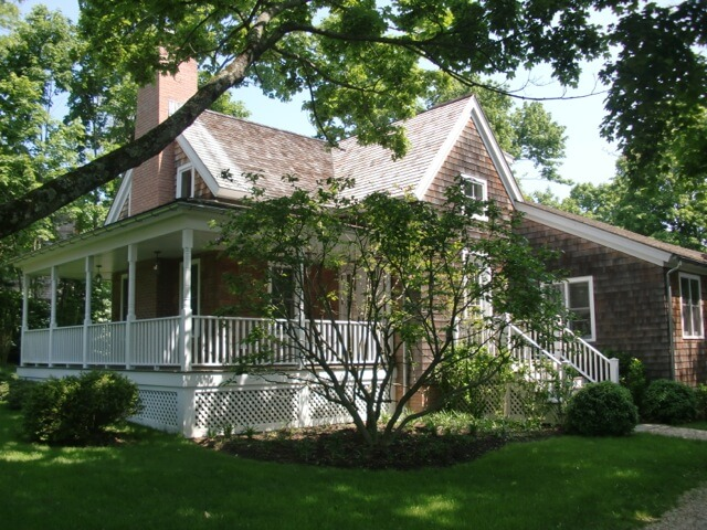 "A renovated Sears Roebuck ""kit house"" in Sag Harbor Village is on the 2013 Friends' House Tour."