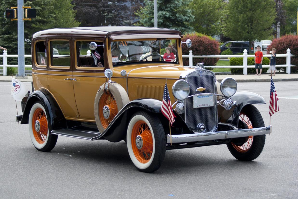 Antique Car in Parade