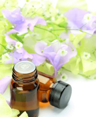 decorative image of essential oils